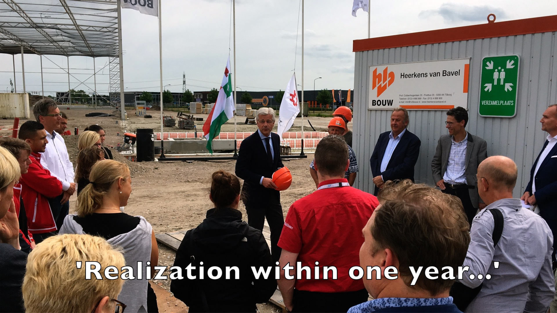 Ground Breaking Ceremony for new Hollister Distribution ...